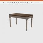 Activo de mesa rectangular