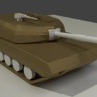 Tanque de guerra Low Poly