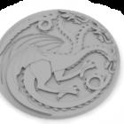 Pièce Targaryen Sigil