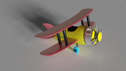Lasten lelu lentokone