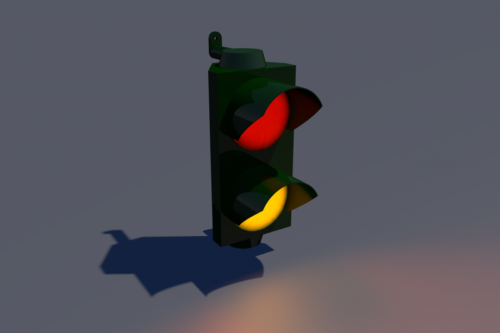 Traffic Light Red Yellow