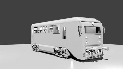 حافلة القطار