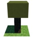 Minecraft stromů Lowpoly