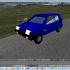 Vaz-1111 Lowpoly Car