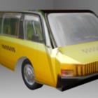 Vintage autobus Vniite-pt
