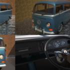 Klassisk VW Skåpbil