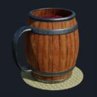 बैरल पेय मग