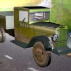 Zis-5 السيارة القديمة