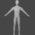 Base Character Rigged