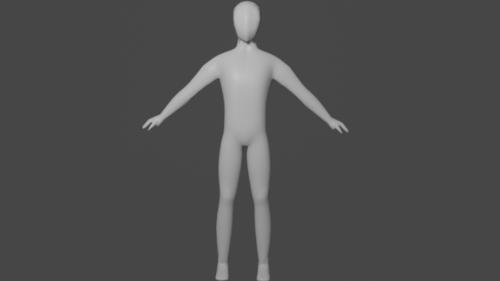 Base Character Rigged