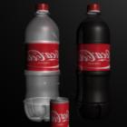 علب زجاجات كوكاكولا
