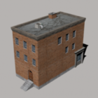 Small Brick Apartment Building