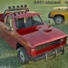 शेवरले सिल्वरैडो कार 1986