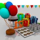Children Birthday Gift Boxes