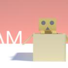 Cardboard Character