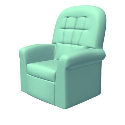 Plush Recliner Single Sofa