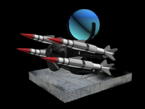 Rapier Missile Weapon