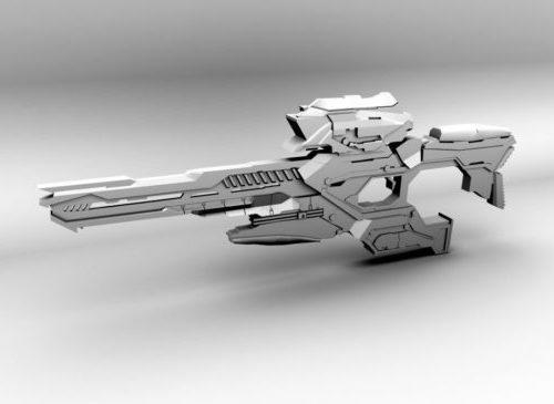 الخيال العلمي الغريبة بندقية قنص