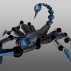 विज्ञान फाई बिच्छू रोबोट