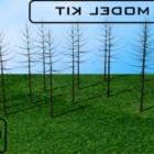 منظر طبيعي للأشجار الجافة