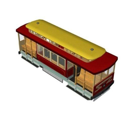 Trolley Car Vehicle