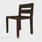 Krzesło drewniane wspólne projekt