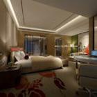 Interno caldo della camera d'albergo V1