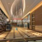 Hotel Lobby Warm Tone Decor