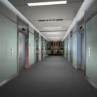 Hospitalets lobby interiør