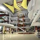Wnętrze sali handlowej centrum handlowego