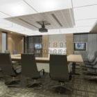 Office Meeting Room With Furniture