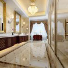 Lobby dell'hotel Decorazione di interni di lusso