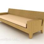 أريكة بسيطة متعددة المقاعد
