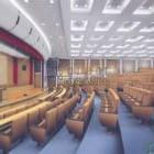 Wnętrze dużej sali konferencyjnej