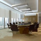 Meeting Room White Interior