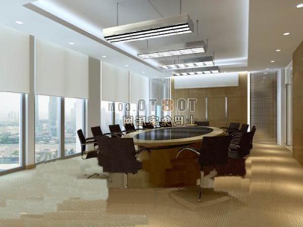 Meeting Room White Interior