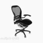 Chaise en maille noire