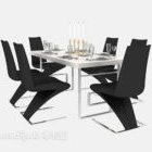 Modern Minimalist Home Dining Table V1