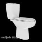 Wspólna toaleta w łazience