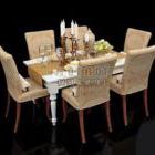 Klassisk matbordstol
