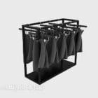 Rak Pakaian Showroom