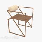 الحداثة كرسي صالة خشبية