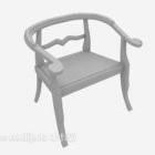 كرسي النمط الصيني المواد الخشبية