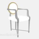 الحداثة الأوروبية كرسي خشبي