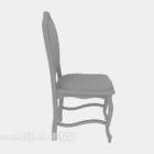 كرسي طاولة باللون الرمادي