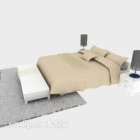 Double Bed With Carpet Daybed