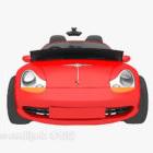 Rotes Sportwagen Cabrio