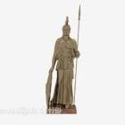 Chinese Ancient Warrior Sculpture