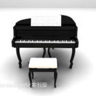 Piano With Chair