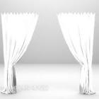 Effondrement du rideau blanc